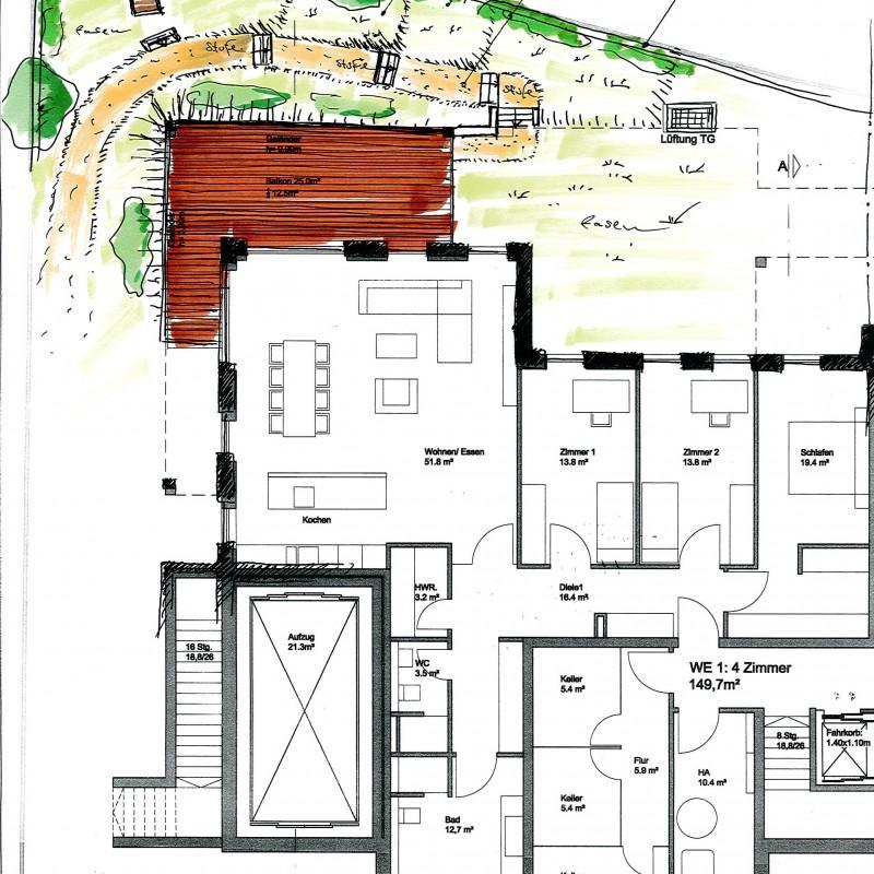 Gestaltungsvorschlag Garten